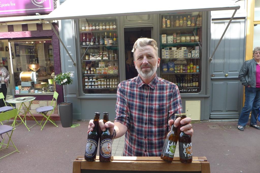 Charly et ses bières © GP