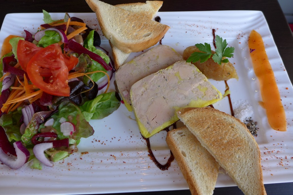 Terrine de foie gras © GP
