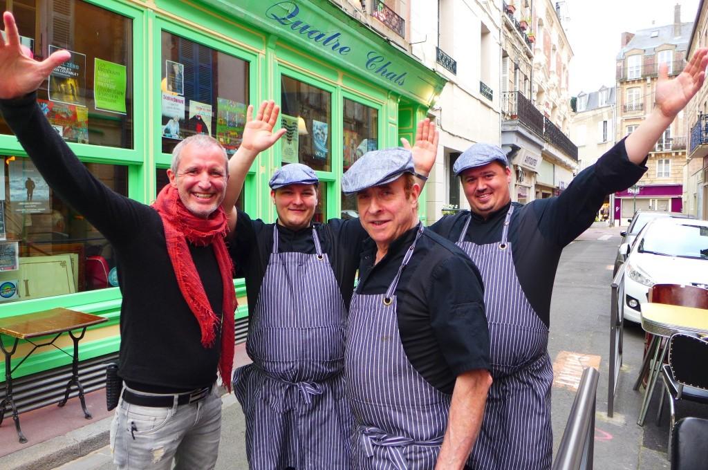 L'équipe autour de Serge Salmon et Gérard Bonnefoy ©GP