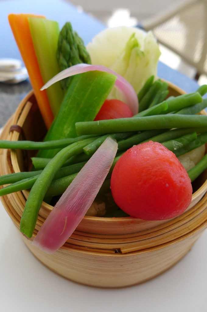 Légumes vapeur © GP