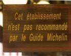 Un panneau chez Miocque © GP