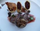 Pigeon des Avirons laqué au goyavier, Wraps d'achards de légumes au chou rouge ©TK