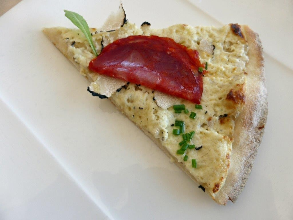 Pizza à la truffe ©AA