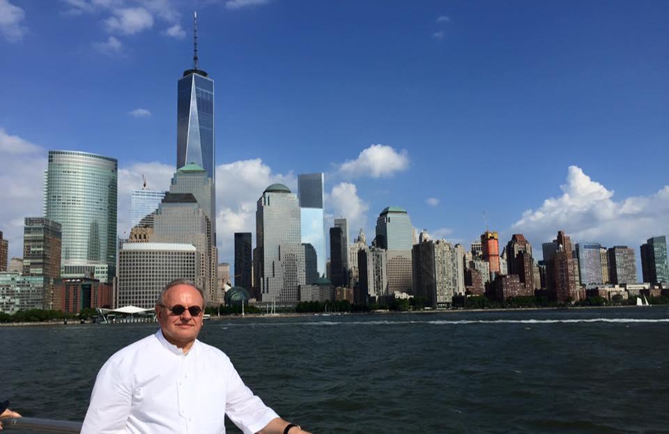 Joël Robuchon à New York © DR