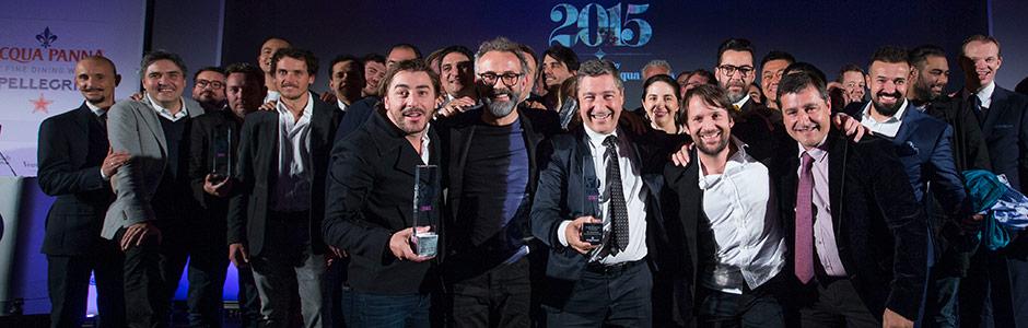 Les derniers lauréats des 50 best © DR