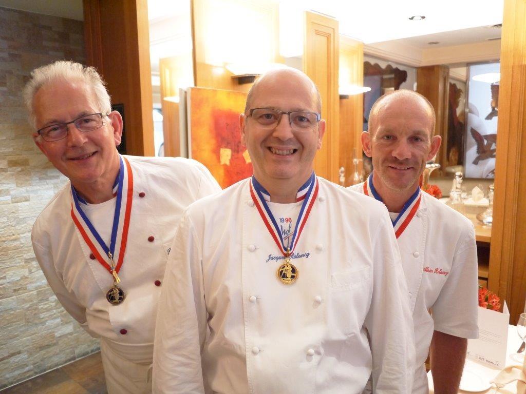 Bernard-Marie, Jacques et  Alain © AA