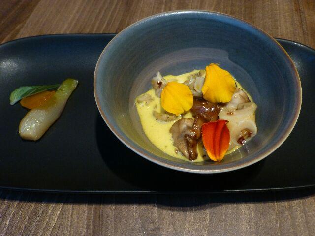 Bulots en sabayon curry ©DC