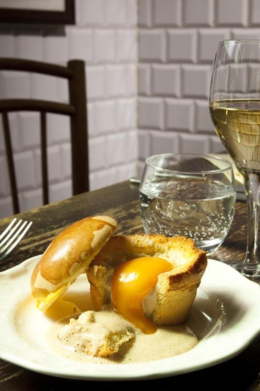 Brioche d'oeuf au foie gras © GP