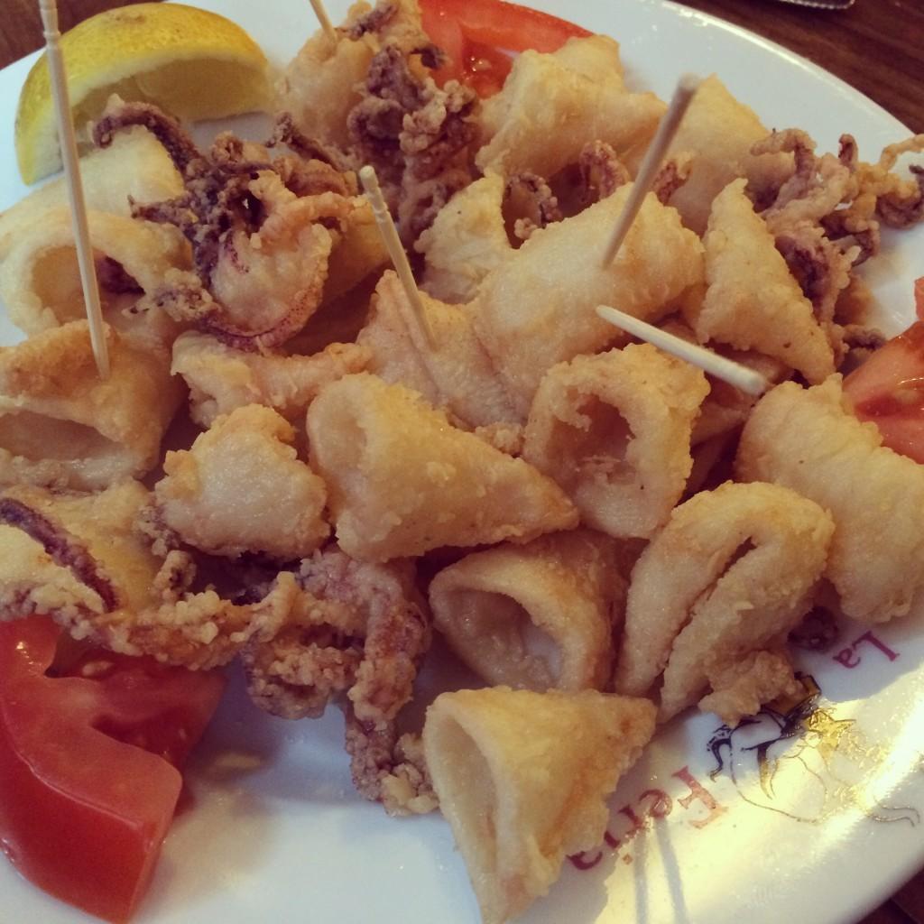 Calamars frits © GP