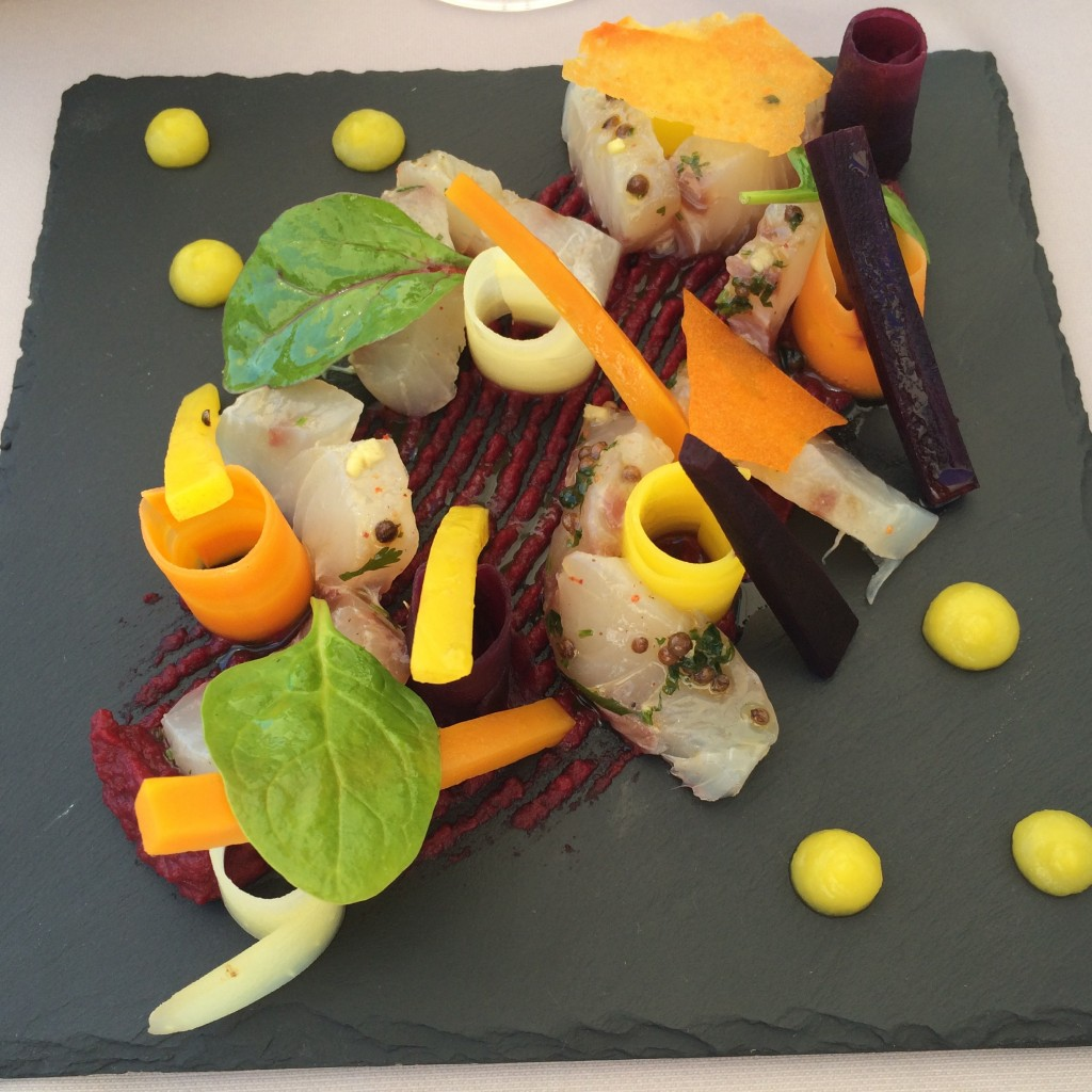 Tranches de maigre et carottes © GP