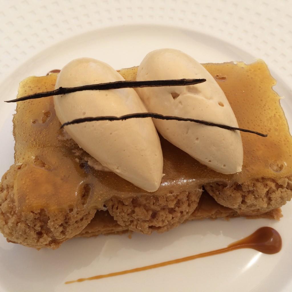 Saint-Honoré au caramel et beurre salé © GP