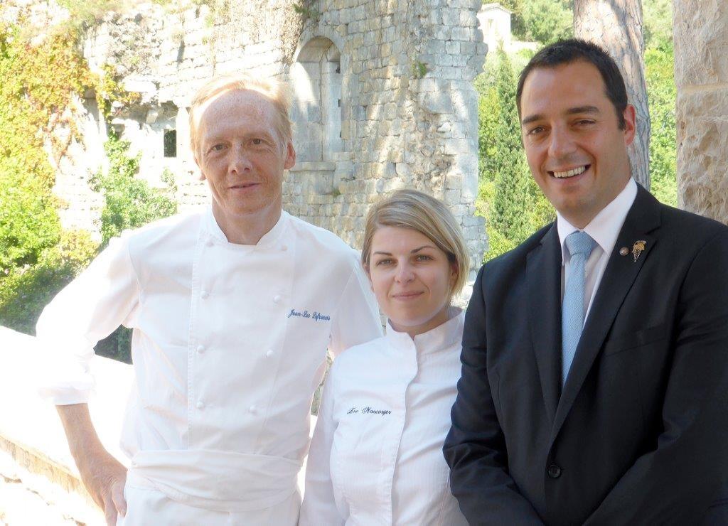 Jean-Luc Lefrançois, Eve Moncorger et Géraud Tournier ©