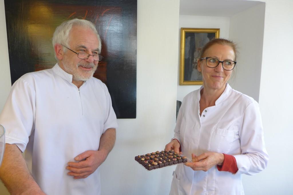 Patrick et Françoise Bradfer © GP
