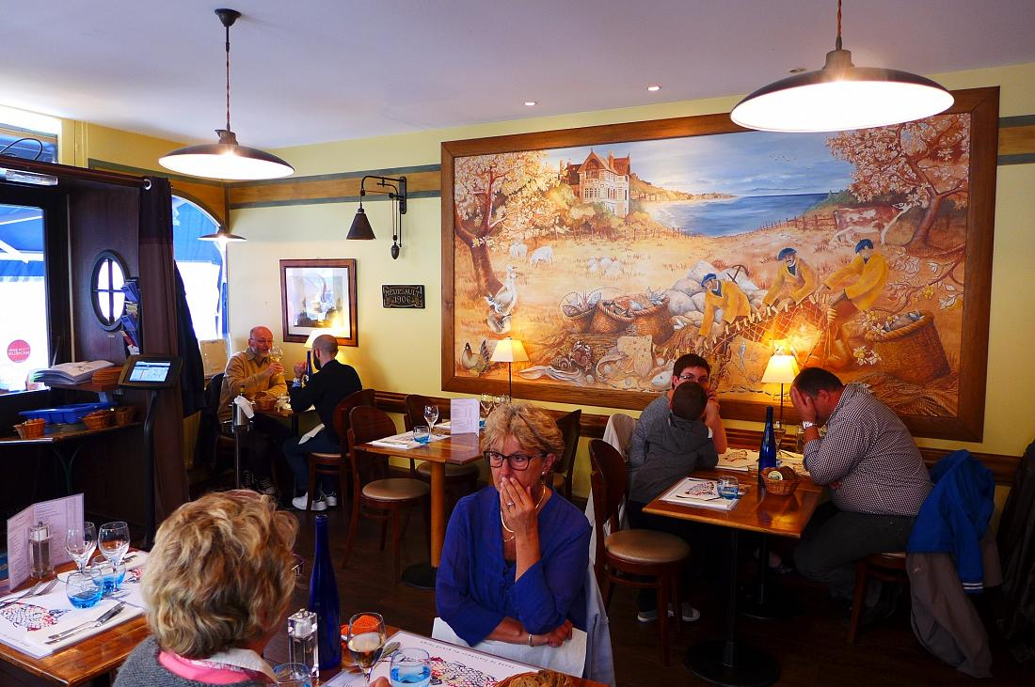 Restaurant Le Cafe De Paris Dives Sur Mer Prix