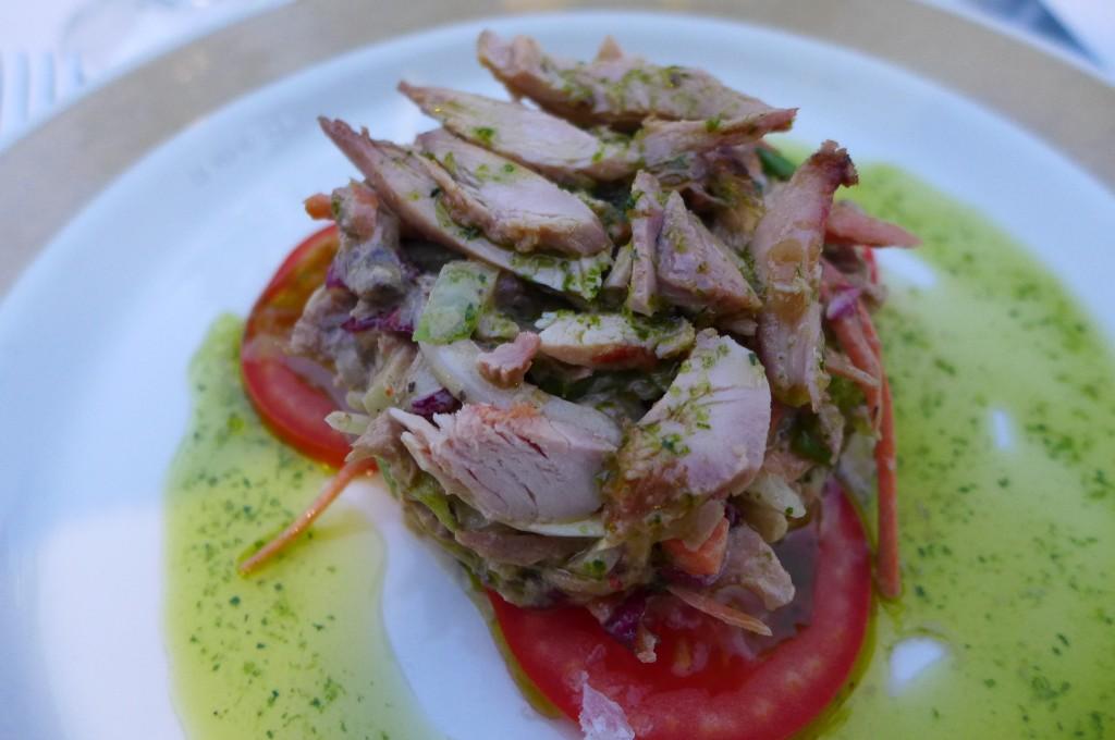 Salade perdreau © GP