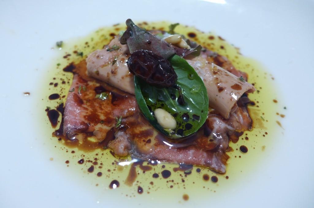 Filet mignon ibérique et foie gras © GP