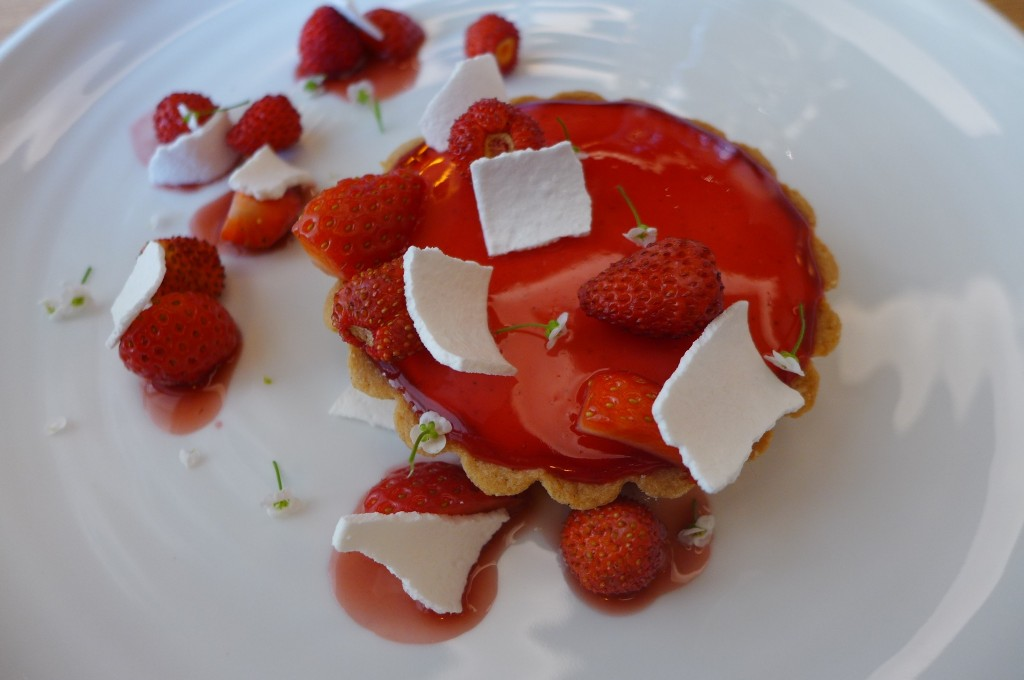 Douceur aux fraises des bois ©GP