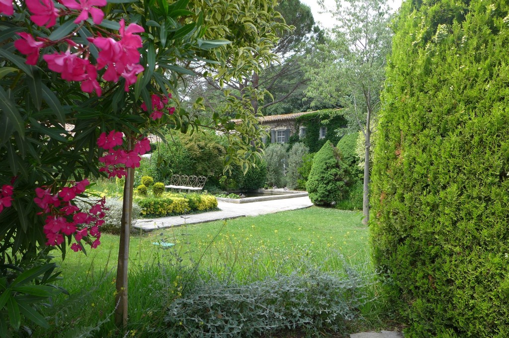 Au jardin © GP