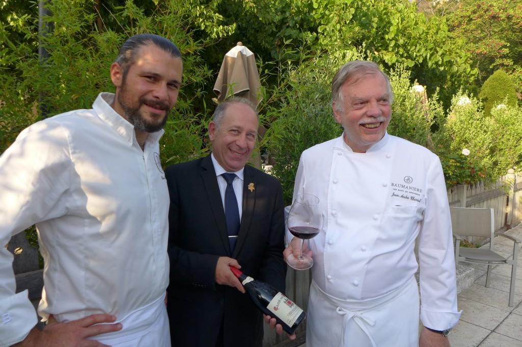 Glenn Viel, Gilles Ozello, Jean-André Charial © GP