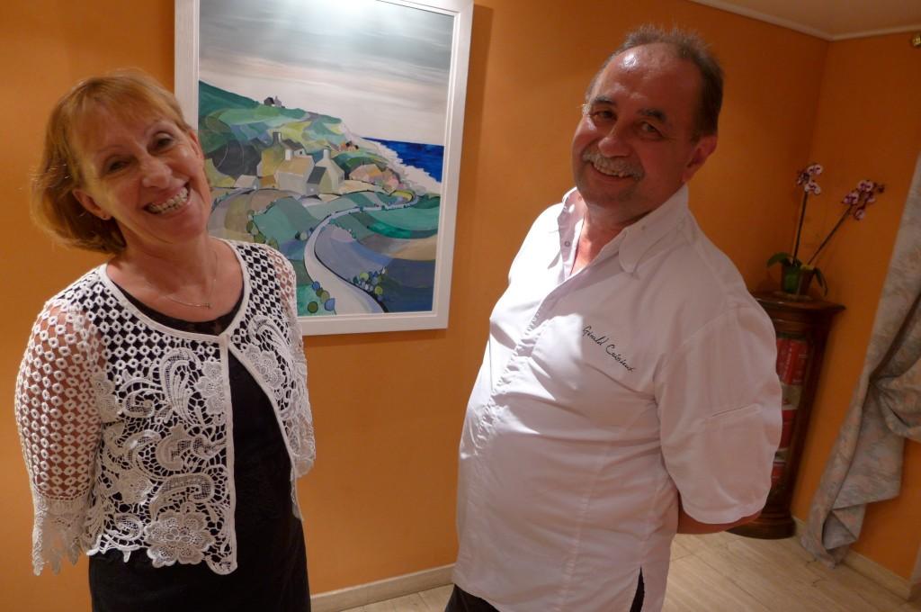 Gérald et Margaretha Coissieux © GP