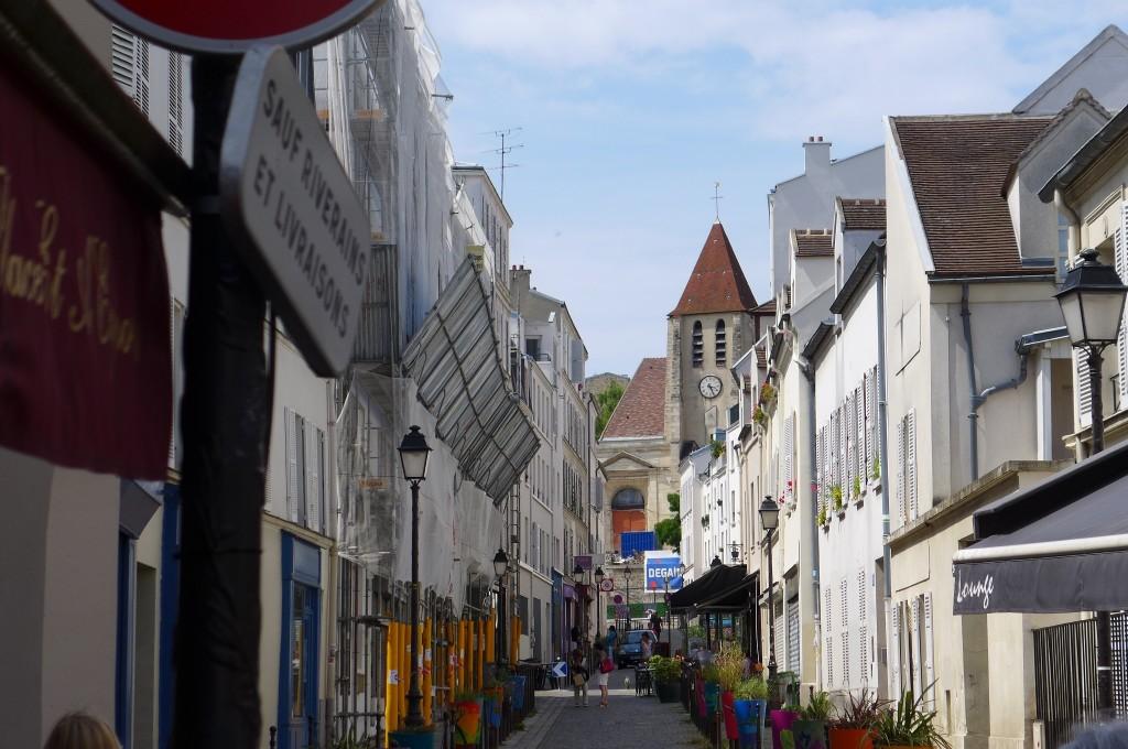 Rue St Blaise et St Pierre de Charonne © GP
