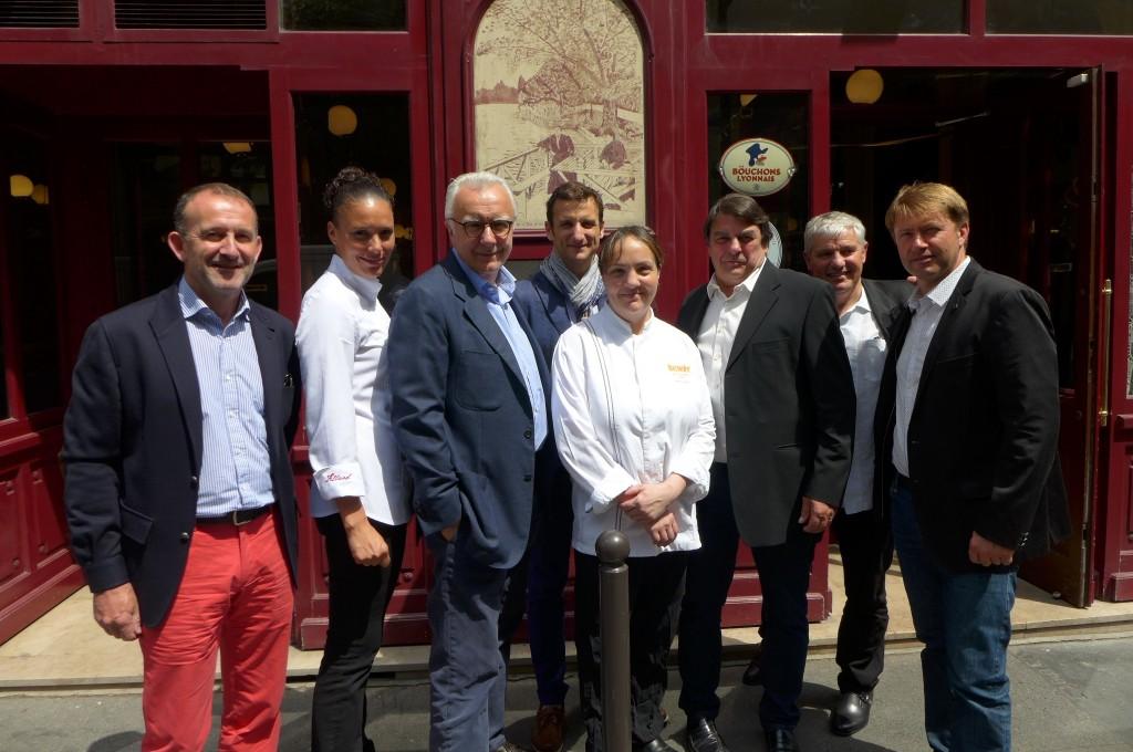 Alain Ducasse, les chefs, les producteurs ©GP