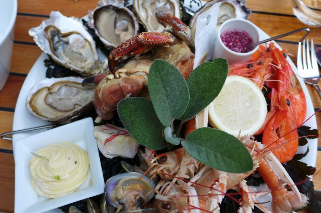 Assiette de fruits de mer © GP