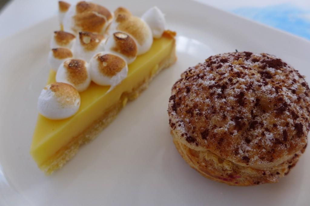 """Tarte au citron, chou """"paris-brest"""" ©GP"""