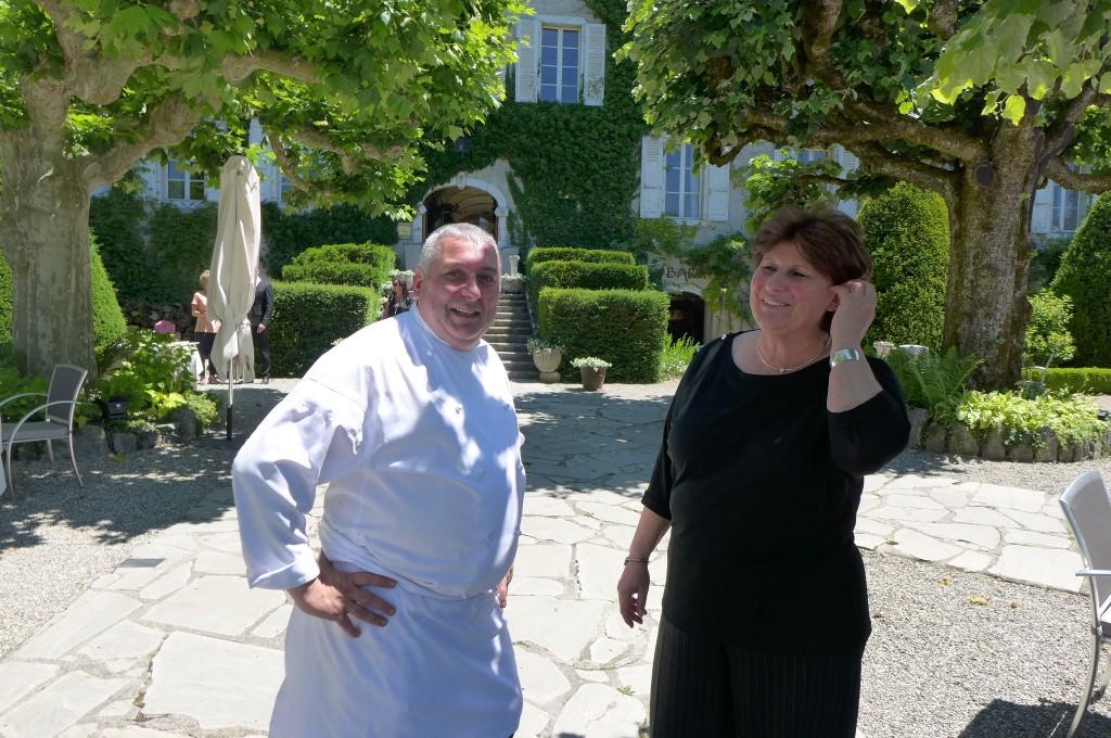 Fabrice Taulier et Dunja Studen Kirchner © GP