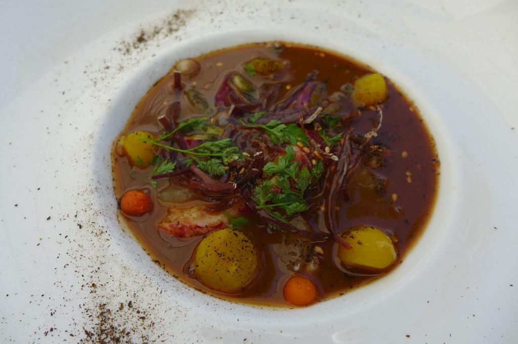 Bouillon de homard © GP
