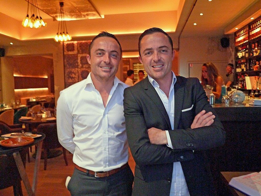 Antoine et Hugo Lecorche © AA