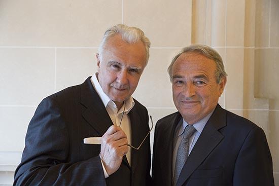 Alain Ducasse et Jean-Paul Fontan ©Maurice Rougemont