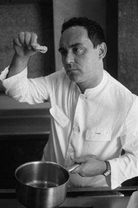 Ferran Adria © Maurice Rougemont