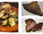 Poisson, Presa de pata negra et légumes de saison © AA