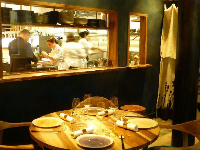 La cuisine vue depuis la salle © DC