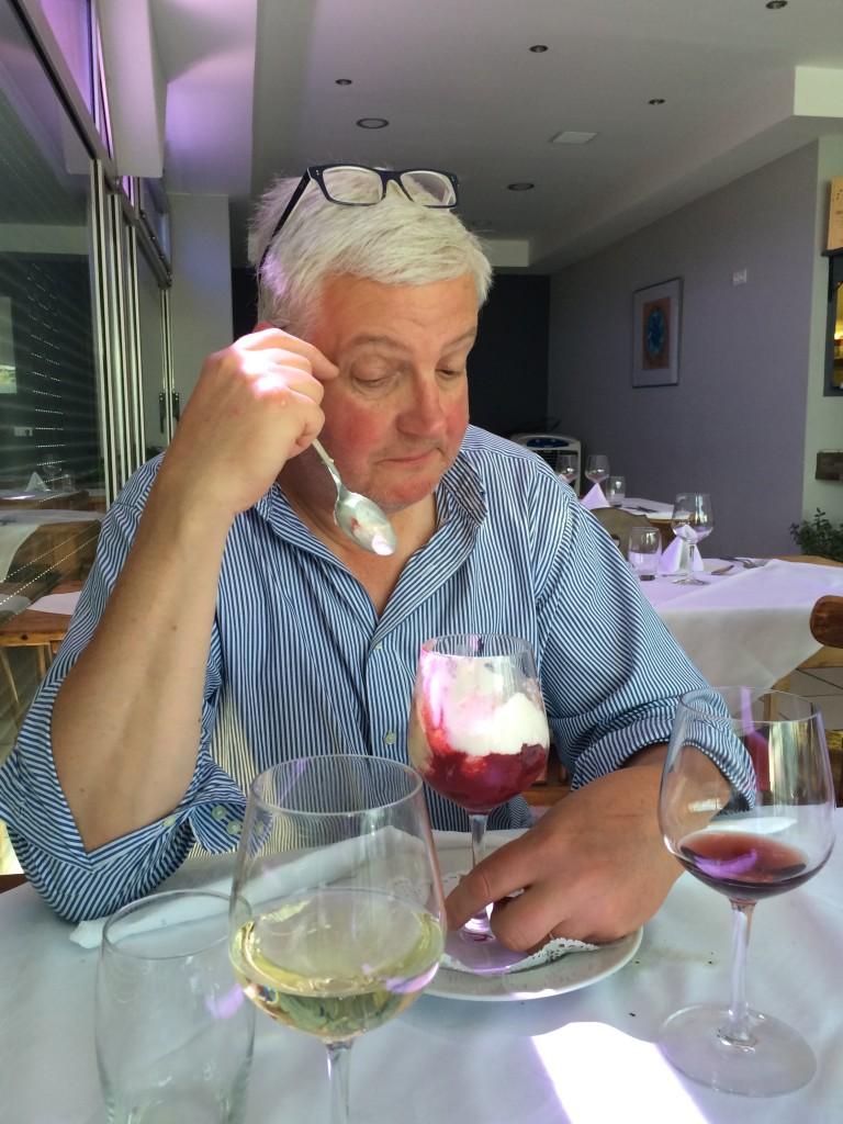 Guy Untereiner et la framboise Melba © gp