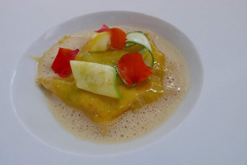 Homard et lasagne de courgette © GP