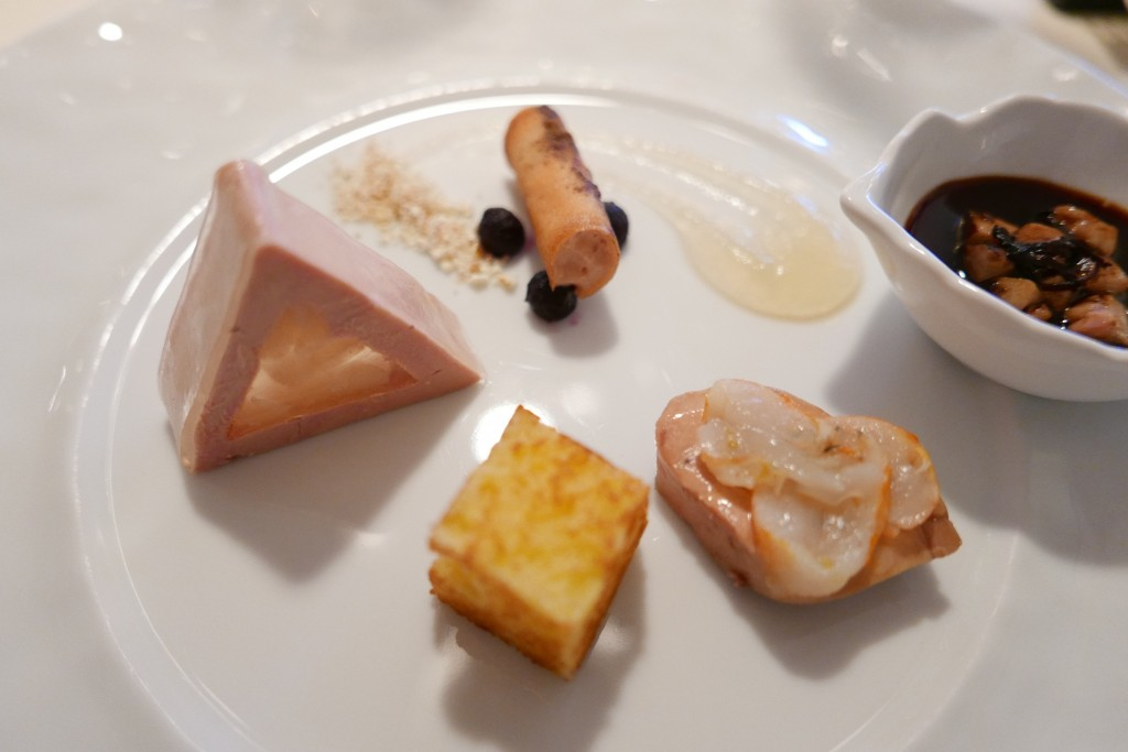 Foie gras et poire © GP