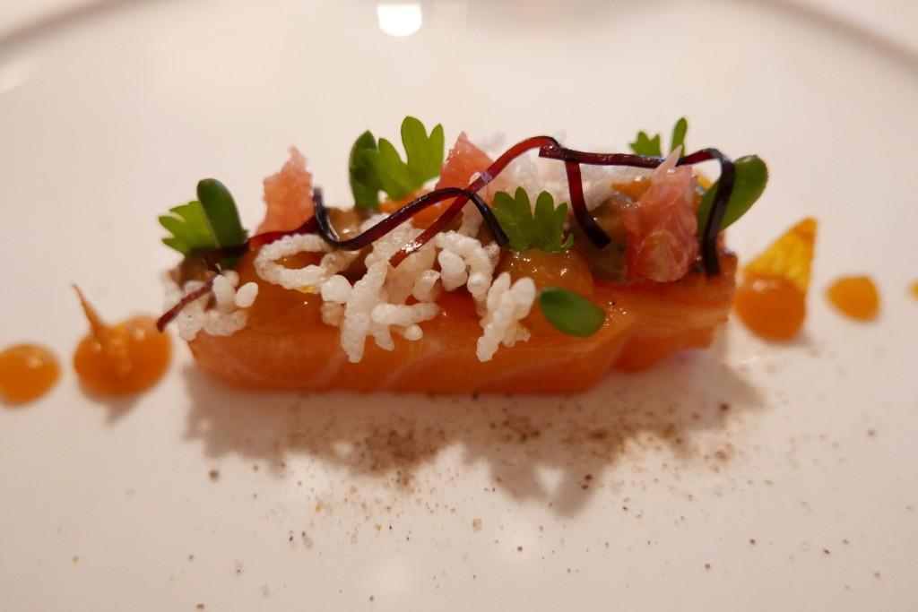 Sashimi de saumon © GP