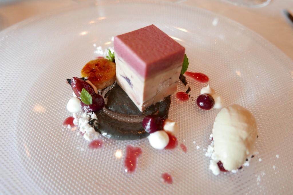 Foie gras et cerises ©GP