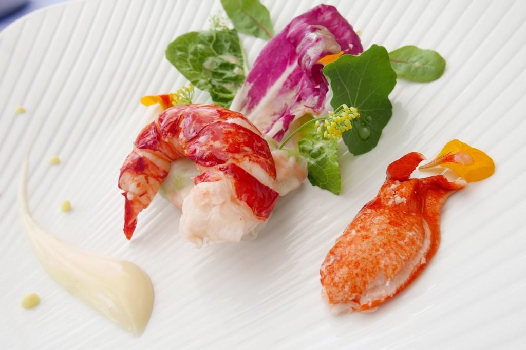 Salade de homard ©GP