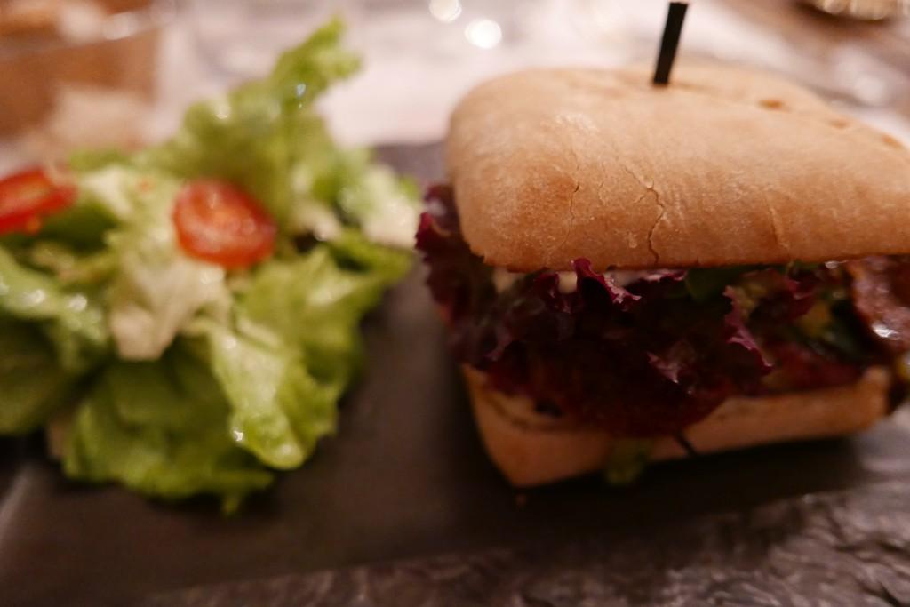 Burger de thon © GP