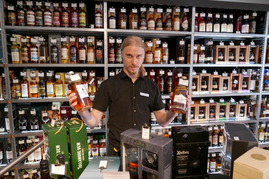 Choix de whiskies ©GP