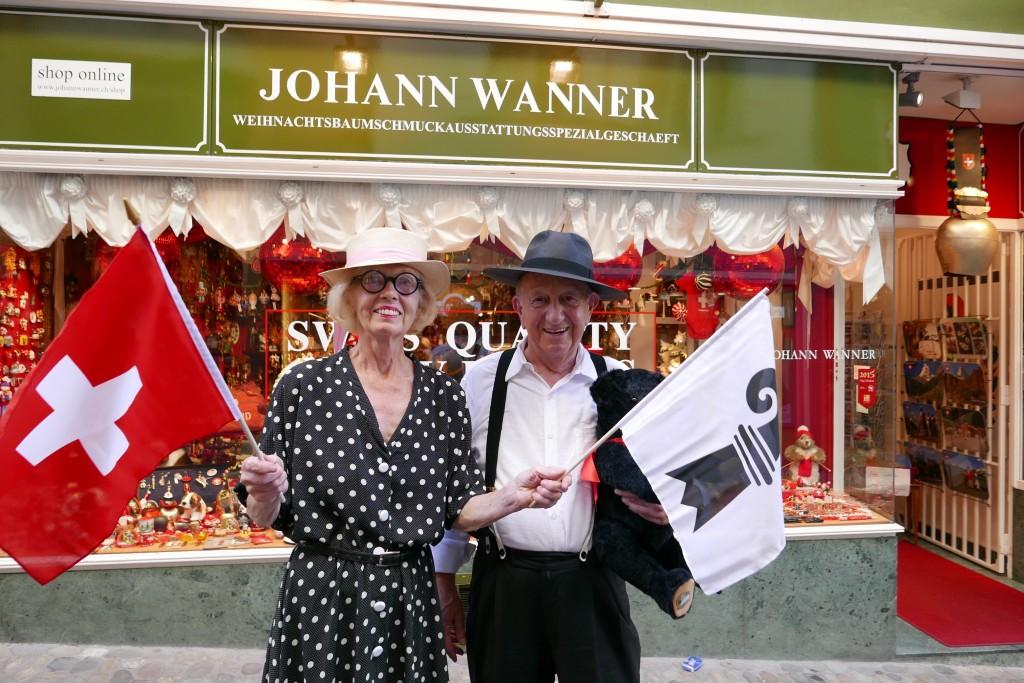 Ursula et Johann Wanner © GP