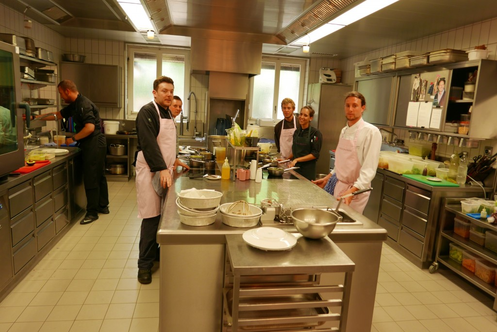 L'équipe de cuisine © GP
