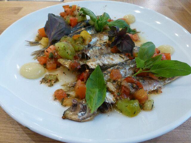 Sardines grillées © DC