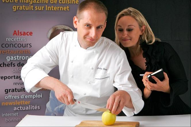 Julien Binz et Sandrine Kauffer © DR