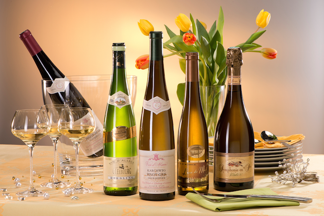 Choix de vins © DR