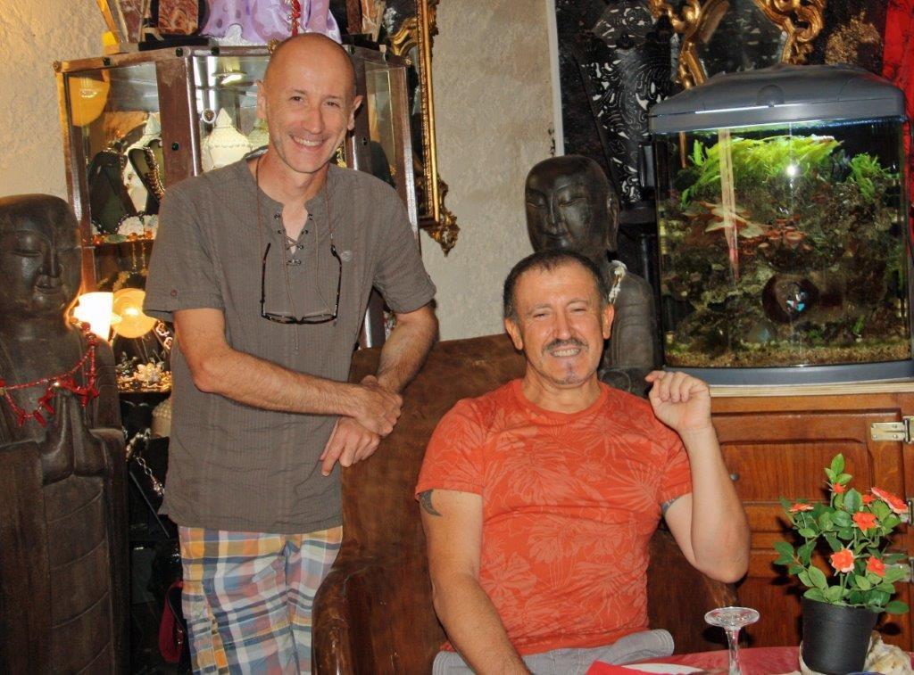 Hervé et Marc © AA