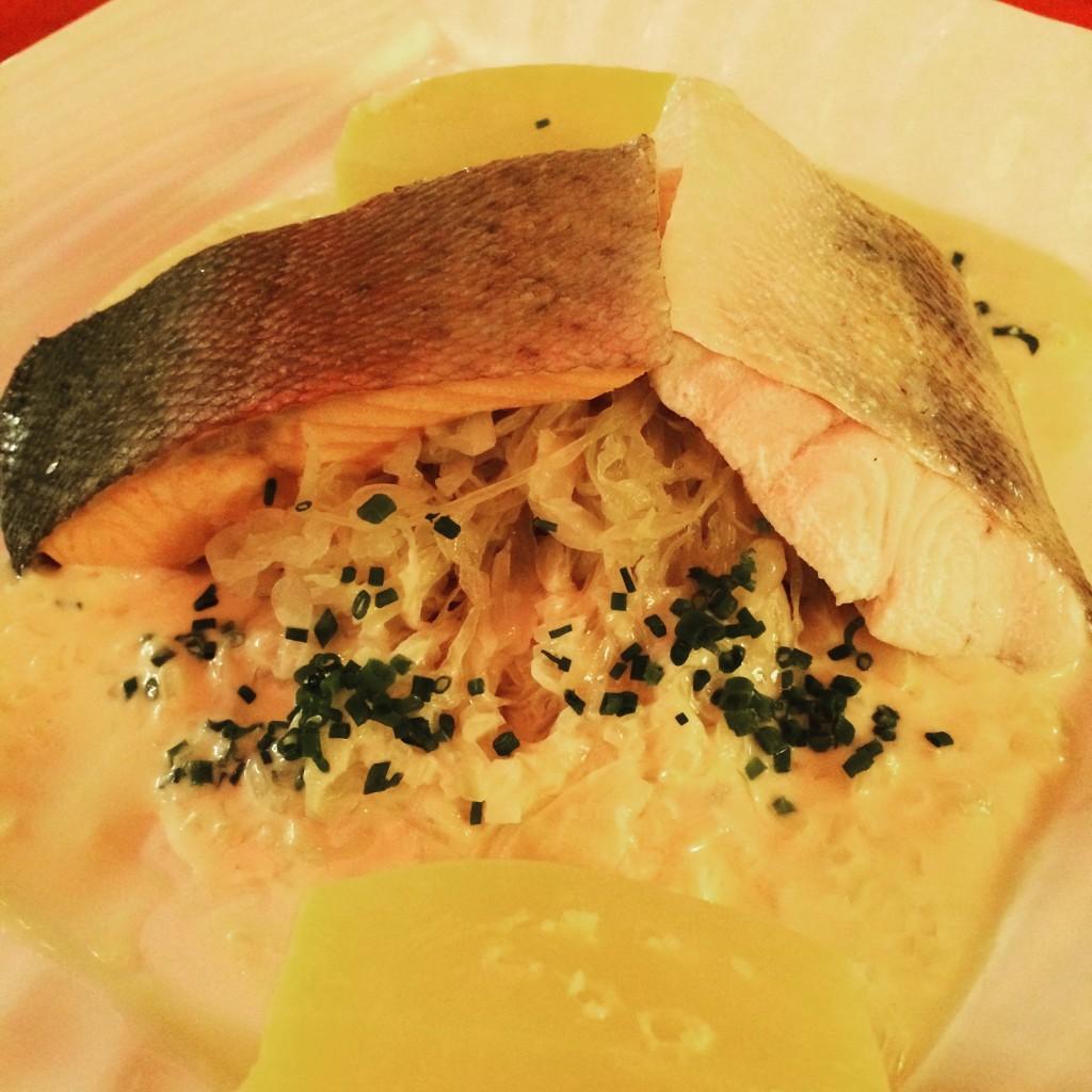 Choucroute aux deux poissons © GP